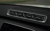 12 Mercedes S Class S400d 2021 UK FD air vents