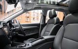 MG ZS EV 2019 UK first drive review - cabin