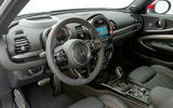 Mini Clubman John Cooper Works 2019 first drive review - steering wheel