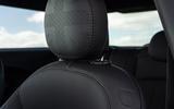 12 Mini Cooper S 2021 UK FD front seats
