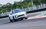 Nio ES6 2019 first drive review - track front