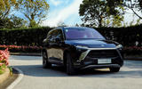 12 Nio ES8 European spec 2021 first drive on road front