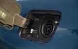 Peugeot 3008 Hybrid 2021 UK review - charging port