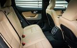 Polestar 2 2020 UK first drive review - rear seats