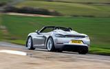Porsche 718 2020 - hero rear