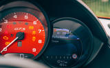 Porsche 718 Boxster GTS 4.0 2020 UK first drive review - instruments