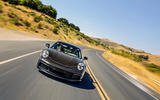 2019 Porsche 911 prototype first ride - hero action