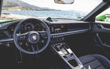 Porsche 911 Cabriolet 2019 first drive review - dashboard