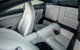 Porsche 911 Carrera S manual 2020 first drive review - rear seats