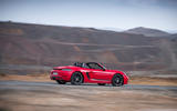 Porsche Boxster T 2019 first drive review - on the road side