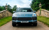 Porsche Cayenne 2018 UK first drive review on the road front