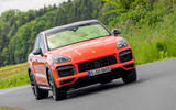 Porsche Cayenne Coupé 2019 first drive review - on the road front