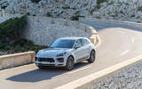 Porsche Macan S 2019 first drive review - cornering