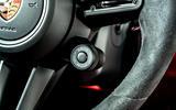 Porsche Panamera e-Hybrid 2020 UK first drive review - drive mode button