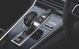 Porsche Panamera GTS 2019 UK first drive review - centre console