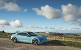 Porsche Taycan 4S 2020 UK first drive review - static