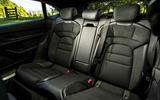 12 Porsche Taycan Cross Turismo 4S 2021 UK FD rear seats