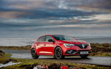 12 Renault Megane RS 300 EDC 2021 UK first drive review static front