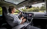 Renault Megane Sport Tourer E-Tech PHEV 2020 first drive review - Simon Davis driving