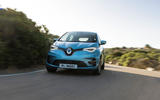 Renault Zoe GT Line R135 2019 first drive review - on the road nose