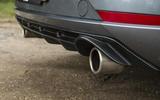 Seat Leon Cupra R 2018 UK review exhausts