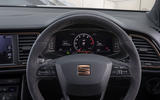 Seat Leon Cupra R ST Abt 2019 UK first drive review - instruments