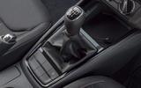 Skoda Kamiq 2019 UK first drive review - gearstick