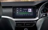 Skoda Octavia hatchback 2020 UK first drive review - infotainment