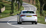 Skoda Octavia IV 2020 first drive review - on the road rear