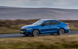 12 skoda octavia vrs tdi 2021 uk first drive review on road front