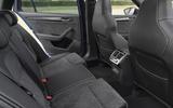 Skoda Superb Estate Sportline 2020 UK first drive review - rear seats