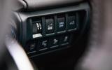 Subaru Forester eBoxer 2019 UK first drive review - ADAS buttons