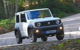 Suzuki Jimny 2018 UK first drive review - cornering front