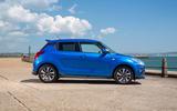 Suzuki Swift Attitude 2019 UK first drive review - static side