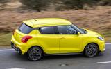 Suzuki Swift Sport 2018 review side profile