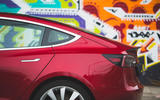 Tesla Model 3 Performance 2019 first drive review - rear end