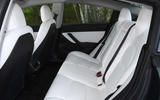 Tesla Model 3 Performance 2019 UK first drive review - rear seats