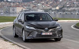 Toyota Camry 2019 European first drive review - cornering front