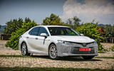Toyota Camry 2019 first drive review static front