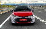 Toyota Corolla 2018 prototype first drive - on the road nose