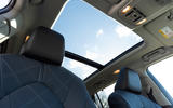 12 Toyota Highlander 2021 UK first drive review sunroof