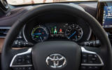 Toyota Highlander Hybrid 2020 first drive review - instruments