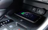 12 Toyota RAV4 PHEV 2021 UK first drive review wireless charging