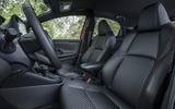 Toyota Yaris hybrid 2020 UK first drive review - cabin