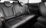 Vauxhall Grandland X Hybrid4 2020 first drive review - rear seats