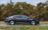 Volkswagen Arteon 1.5 EVO 2018 UK review on the road side