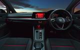 12 Volkswagen Golf GTI Clubsport 45 2021 UK FD dashboard