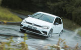 Volkswagen Golf R m52 2019 UK first drive review - cornering front
