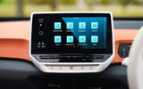 Volkswagen ID 3 2020 UK first drive review - infotainment