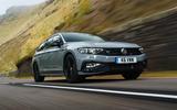 Volkswagen passat Estate R Line 2019 UK review - on the road front